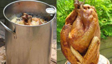 Deep frying a whole turkey (resize web)