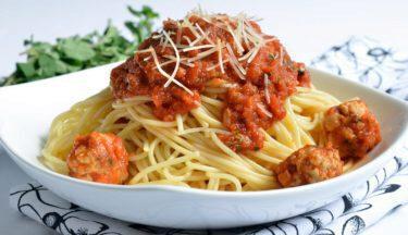 spaghetti-and-turkey-meatballs