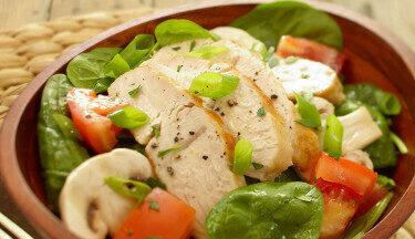 Turkey-Spinach-Salad