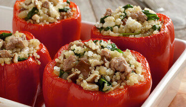 Turkey-and-Quinoa-Stuffed-Peppers