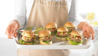 Picture of Turkey Sliders with Chipotle Mayo and Avocado Relish