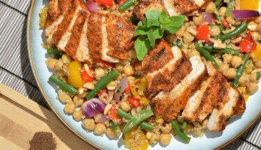 Picture of Moroccan Turkey Scaloppini & Quinoa Salad