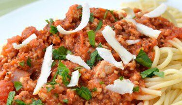 Picture of Turkey Spaghetti Meat Sauce