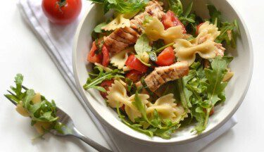 Picture of Warm Grilled Turkey & Tomato Pasta Salad