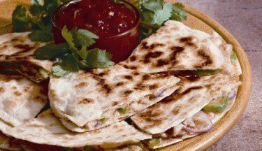 Picture of Turkey Quesadillas